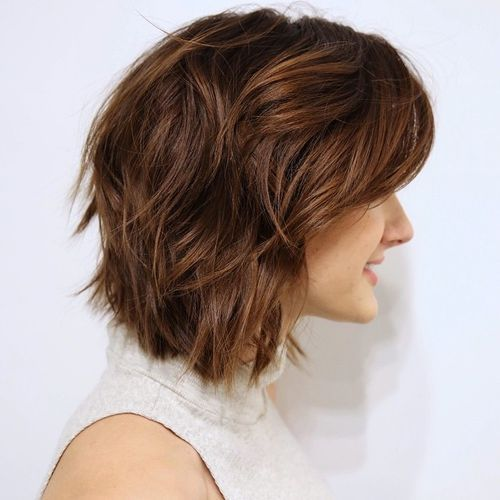 Short-and-Wavy-Shag 14 Cute Haircuts for Teenager Girls to Put You on Center Stage