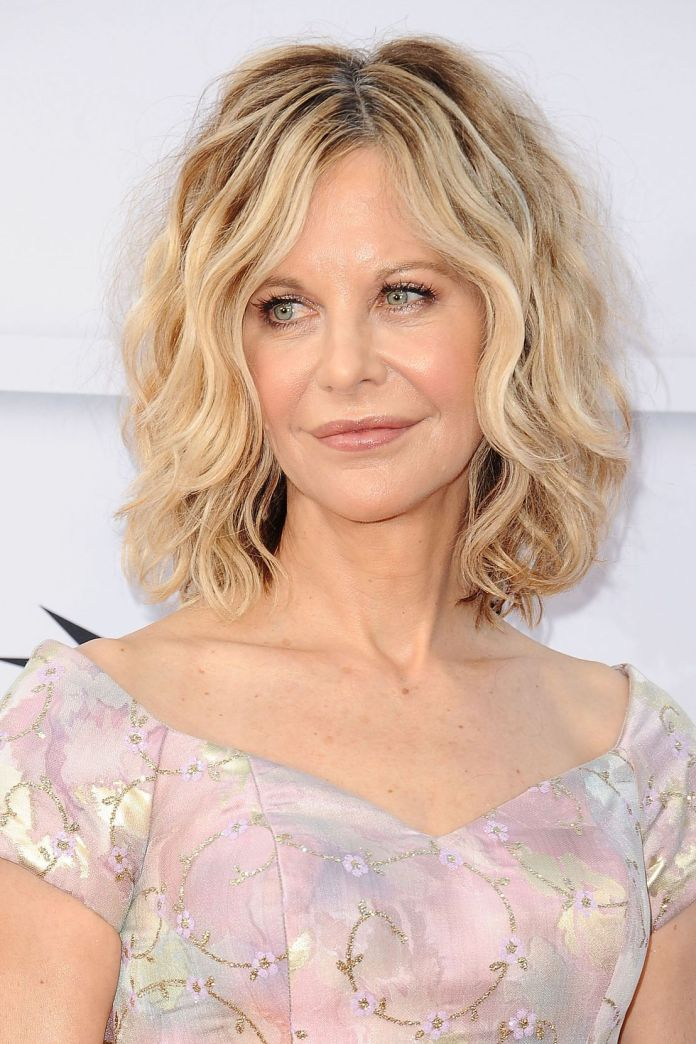 Soft-Blonde-and-Curled-Bob Most Youthful Hairstyles for Older Women 2020