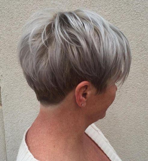 Soft-Gray-Sheen 14 Stylish Gray Hair Styles for older women