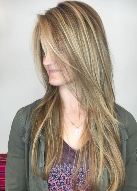 Straight-Hair-Cut-with-Long-Layers 15 Picture-Perfect Hairstyles for Long Thin Hair