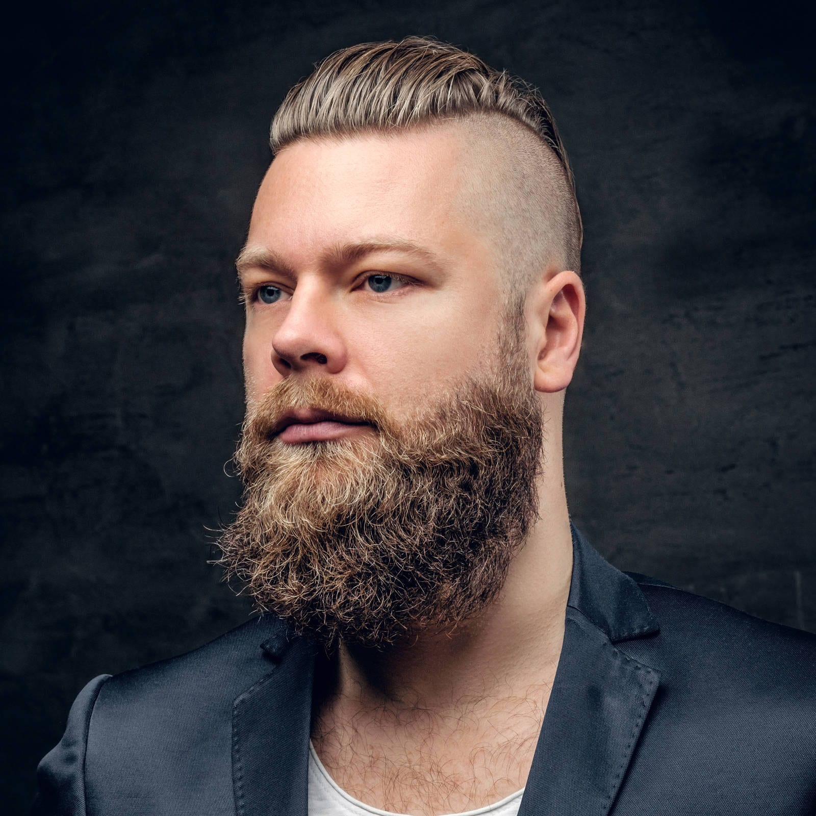 Straight-Mohawk-with-Undercut Most Stylish Hairstyles with Disconnected Undercut