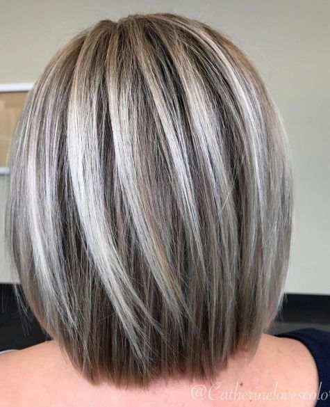 Straight-Rounded-Lob 12 Winning-looks Layered Bob Hairstyles