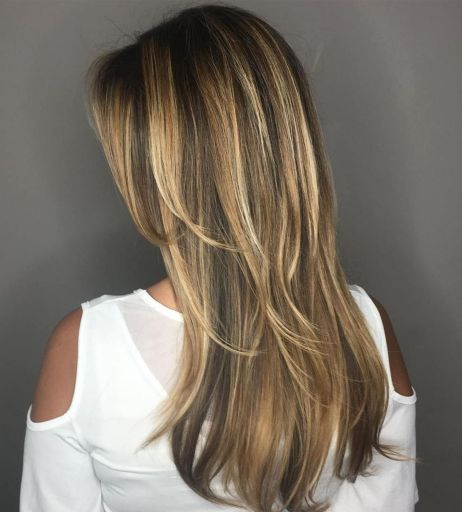 Subtly-Layered-Caramel-Hairstyle 15 Picture-Perfect Hairstyles for Long Thin Hair