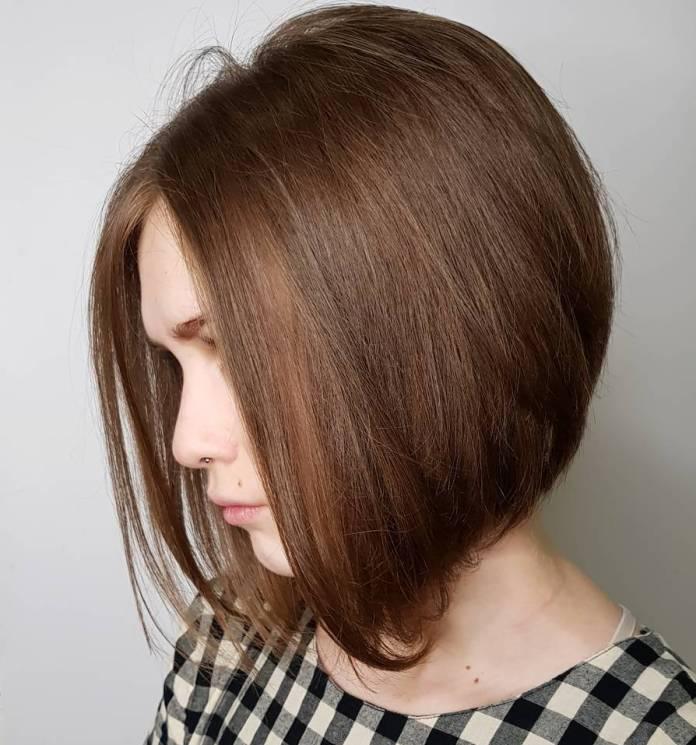 The-Cappuccino-Cut Most Amazing Bob Haircuts for Thin Hair
