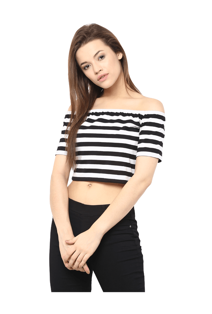 The-Striped-Simple-Stylish-Crop-Top Fashion Tips Teenagers Need to Know
