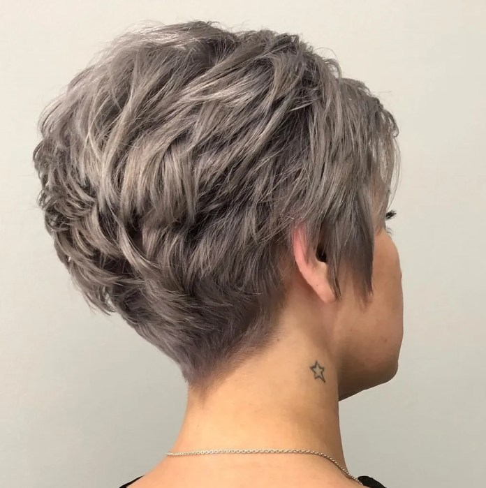 Tousled-Brunette-Pixie Undoubtedly Coolest Pixie Cuts for Wavy Hair