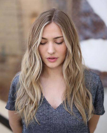 Trendy-Long-Waves 15 Picture-Perfect Hairstyles for Long Thin Hair