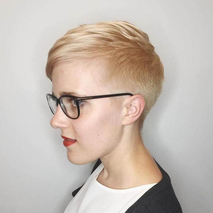 Ultra-Short-Glossy-Pixie Glamorous Pixie Cut 2020 for Astonishing Look