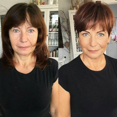 Youthful-Pixie-Haircut 15 Beautiful pixie cuts for older women