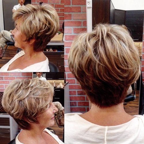chic_and_sporty Short Hairstyles for Older Women Who Want a Timeless Look