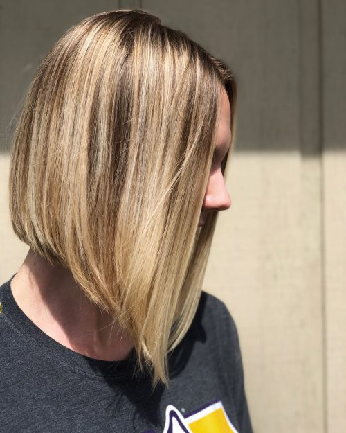 easy-a-line-bob 12 Winning-looks Layered Bob Hairstyles