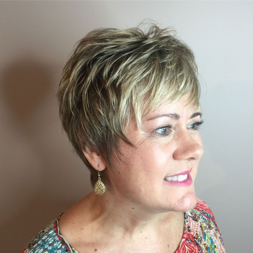 Shaggy Hairstyles for Women with Fine Hair over 50   The ...