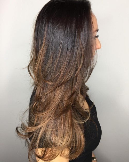 trendy-longer-step-cut 14 gorgeous Hairstyles and Haircuts for Long Straight Hair