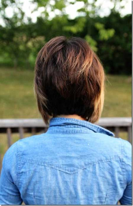 Amazing-Back-View-of-a-Graduated-Bob-Hairstyle Bob Hair Styles for 2020