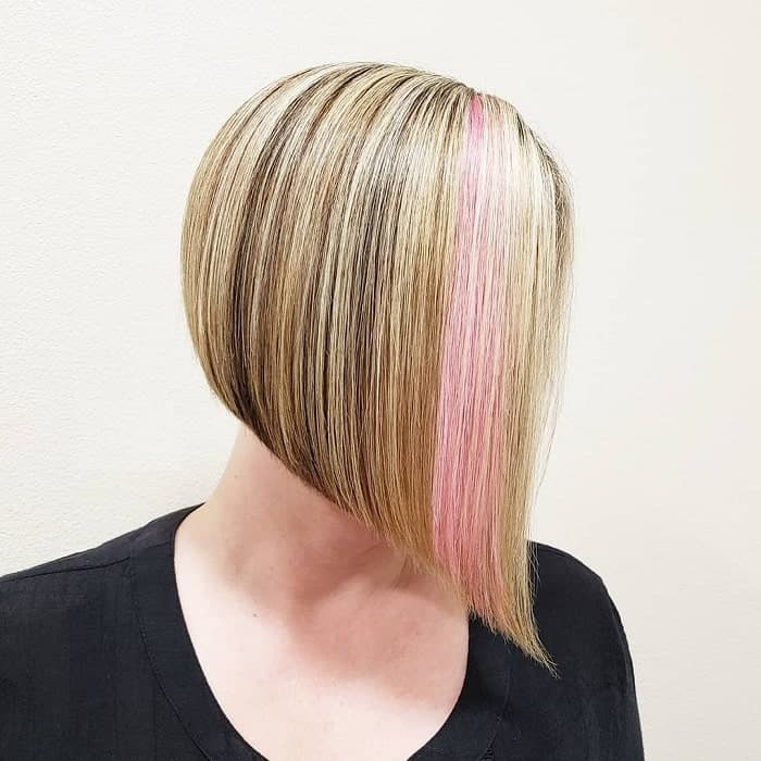 Angled-A-Line-Bob Best A-Line Bobs You Need to Try (Trending for 2020)