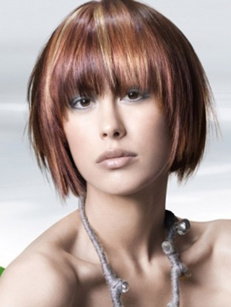 Awesome-Layered-Bob-Cut1 Short Hairstyles for Straight Hair