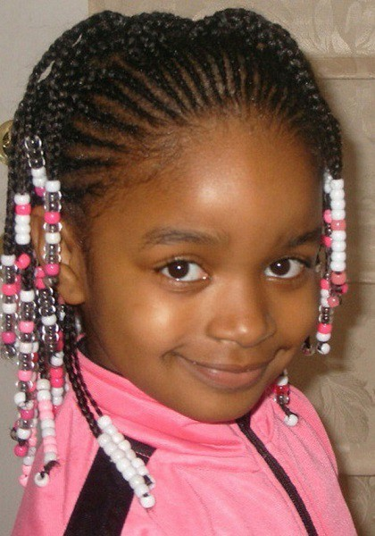 Back-to-Front Cutest Braided Hairstyles for Little Girls Right Now