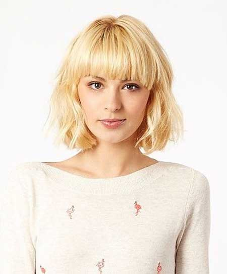 Bob-Hairstyle-with-Slight-layers Bob Hair Styles for 2020
