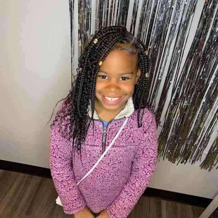 Box-Braids-for-Kids Cutest Braided Hairstyles for Little Girls Right Now