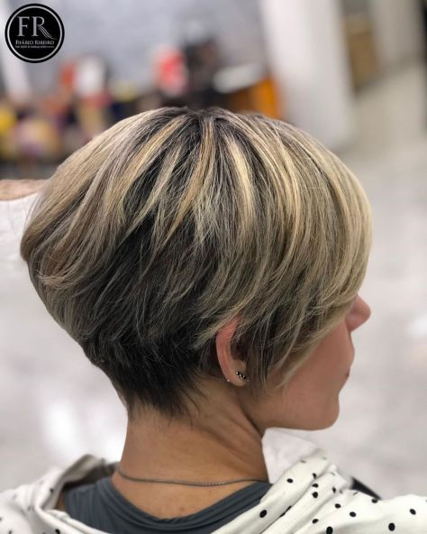Bronde-Pixie-Bob-for-Thick-Hair 12 Pixie Haircuts for Thick Hair that will inspire your next cut