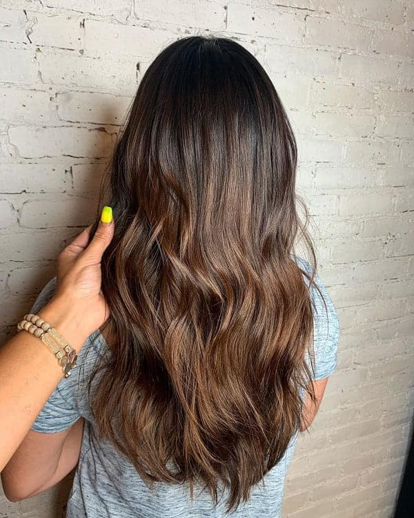 Brown-Ombre-Hairstyle Bewitching Brunette Ombre Hair Ideas (2020 Guide)
