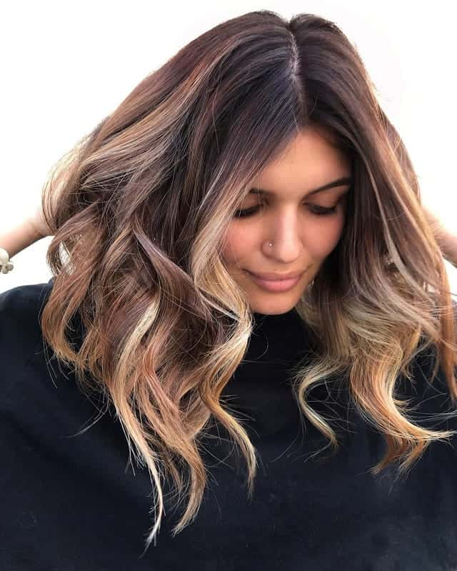 Brunette-to-Blonde-Ombre Bewitching Brunette Ombre Hair Ideas (2020 Guide)