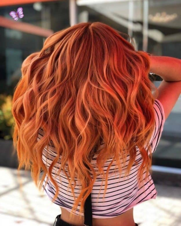 Burnt-Orange-Hair-Ombre Orange Ombre Hair – 12 Revolutionary Ideas to Rock