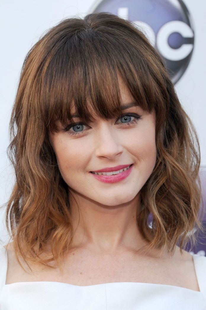 Classic-Fringe 12 Best Hairstyles with Bangs to Inspire Your Next Cut