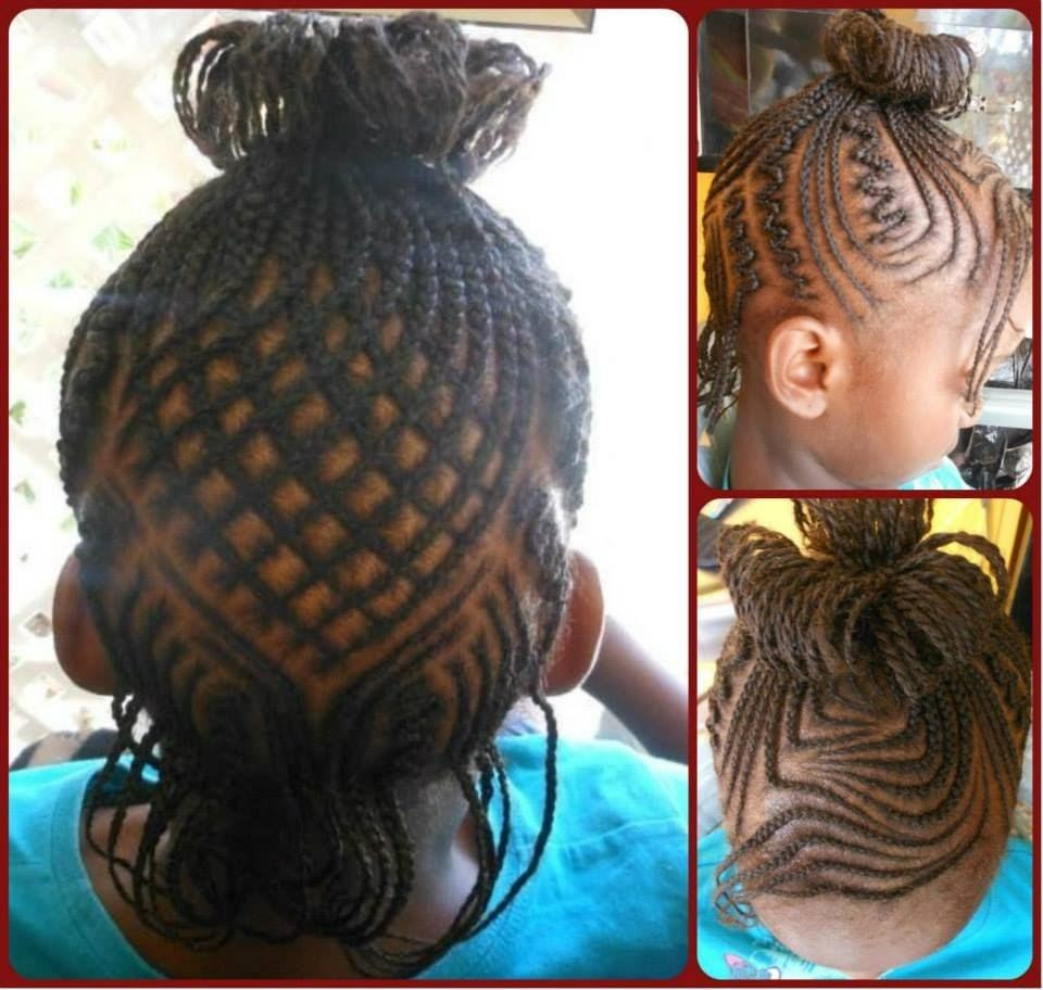 Cornrow-Art Cutest Braided Hairstyles for Little Girls Right Now