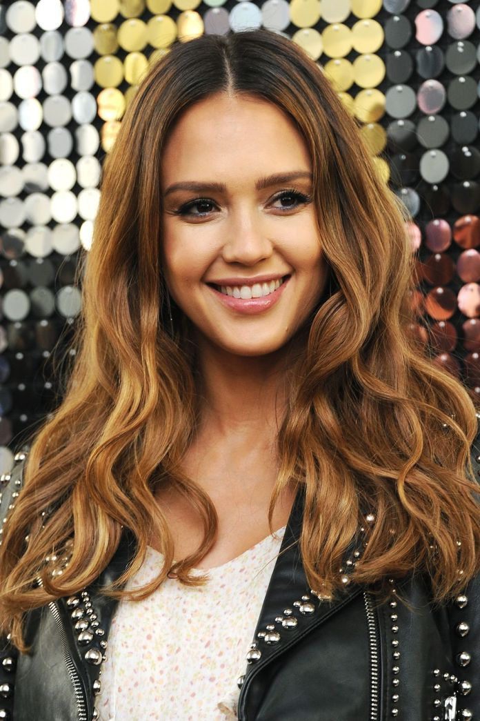 Dark-Roots 10 Flirty and Flattering Light Brown Hair Color Ideas to refresh your casual look