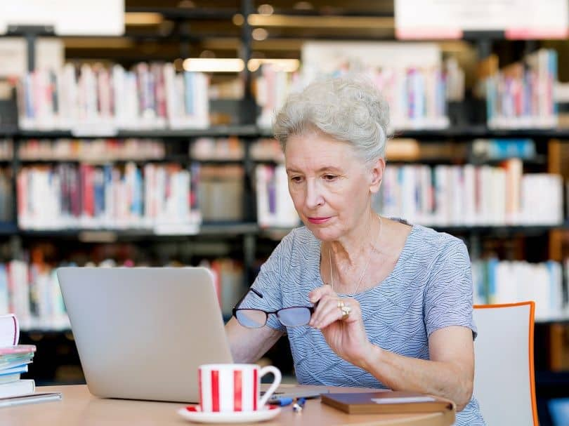 Elegant-Updo Loveliest Medium Length Hairstyles for Older Women