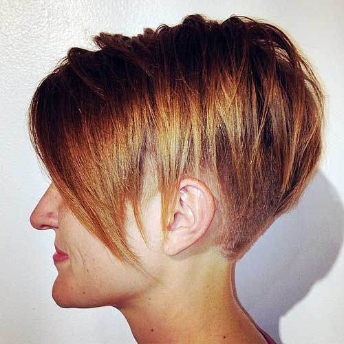 Extra-Short-Inverted-Bob-Hairstyle Hottest inverted Bobs Hairstyles 2020