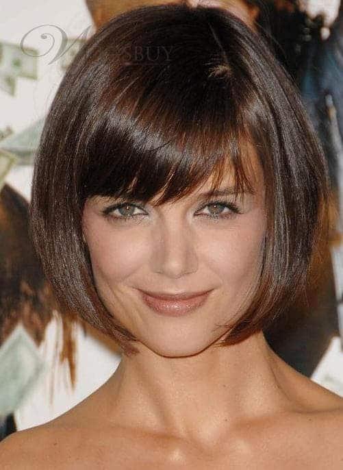 Eye-reaching-fringe Cutest Bob Haircuts for Women to Bump Up The Beauty