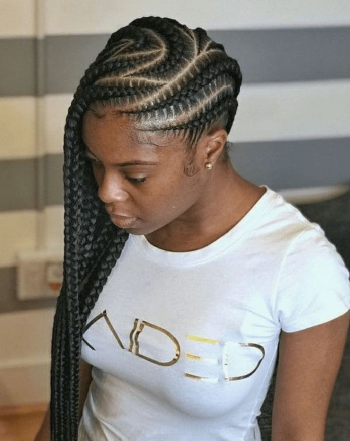 Flowing-Feed-in-Braids Most Coolest and Fabulous Feed in Braids