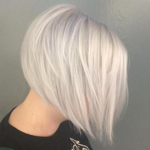 Graduated-Short-Bob Short Bob Hairstyle Trends To Keep for 2020