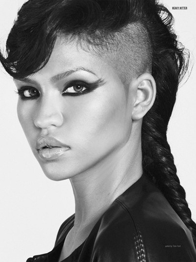 Half-Shaved-Head-Hairstyles-25 Brilliant Half Shaved Head Hairstyles for Young Girls
