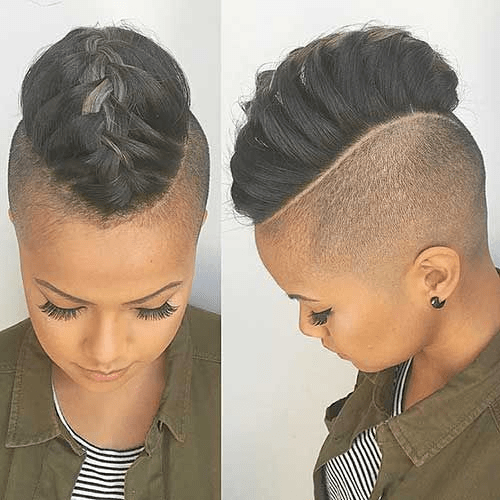 Half-Shaved-Head-Hairstyles18 Brilliant Half Shaved Head Hairstyles for Young Girls