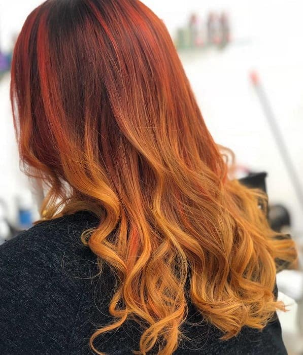 How-to-Dye-Orange-Ombre-Hair Orange Ombre Hair – 12 Revolutionary Ideas to Rock