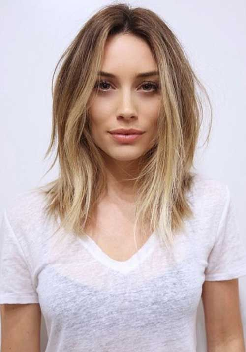 Icy-Brown-Bob Most Hottest and Sexiest Long Bob Haircuts