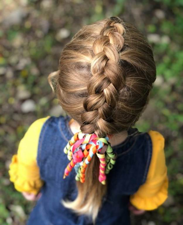 Individual-Braids Cutest Braided Hairstyles for Little Girls Right Now