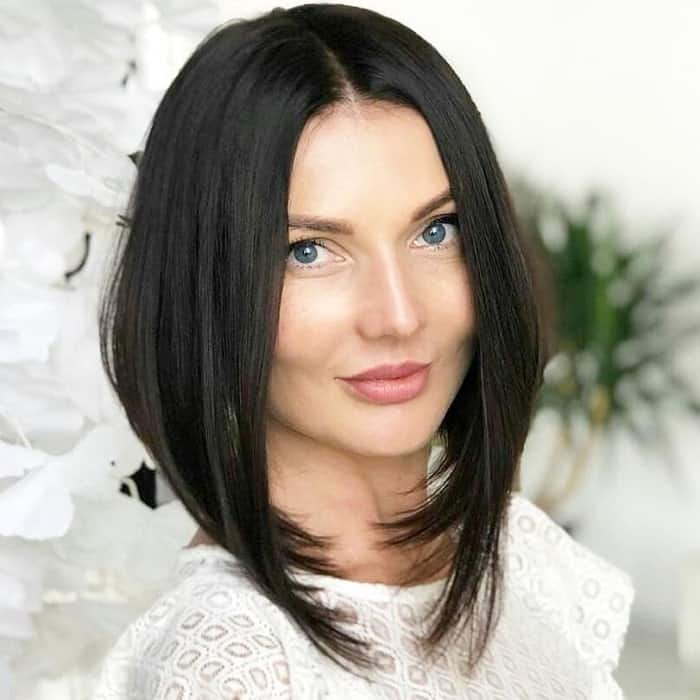 Inverted-A-Line-Bob Best A-Line Bobs You Need to Try (Trending for 2020)
