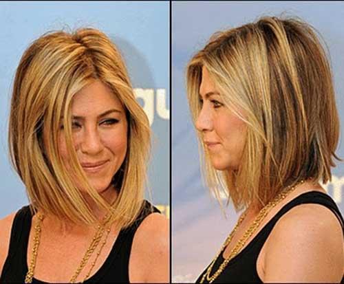 Jennifer-Aniston-Shoulder-Length-Bob-Style Jennifer Aniston Bob Haircuts