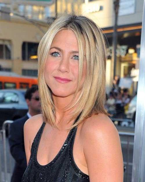 Jennifer-Aniston-Stylish-Bob-Haircut Jennifer Aniston Bob Haircuts