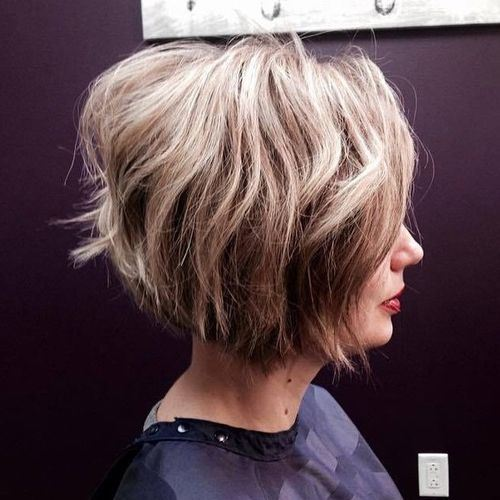 Layered-Balayage-Inverted-Bob-Hairstyle Hottest inverted Bobs Hairstyles 2020