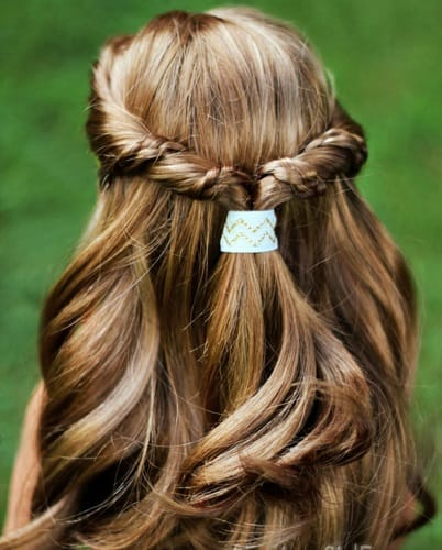 Little-Girl's-Braids-with-Beads-27 How to Style Little Girl's Braids with Beads