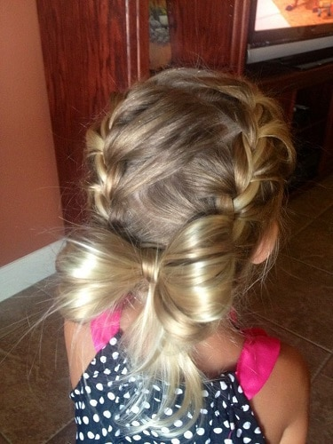 Little-Girl's-Braids-with-Beads-36 How to Style Little Girl's Braids with Beads