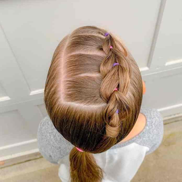 Little-Girl's-Braids-with-Beads-53 How to Style Little Girl's Braids with Beads