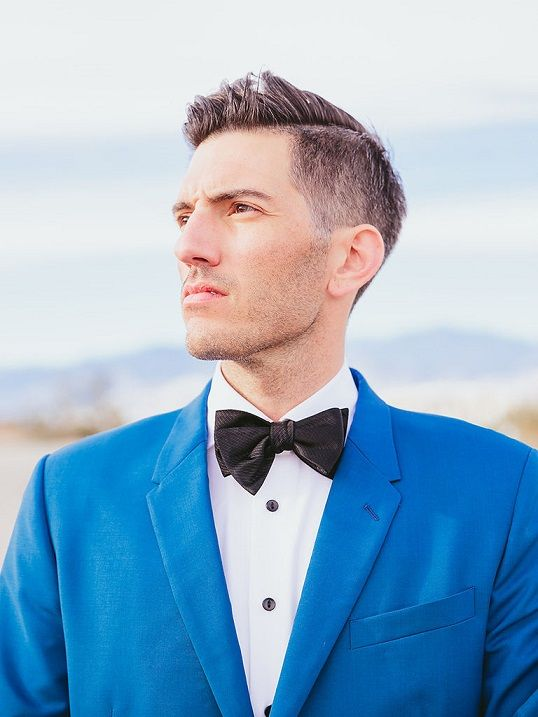Long-Pompadour 10 On-trend Wedding Haircuts For Men