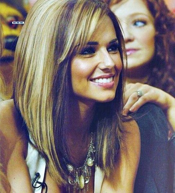 Long-a-line-bob-with-highlights Captivating Inverted Bob Hairstyles That Can Keep You Out of Trouble