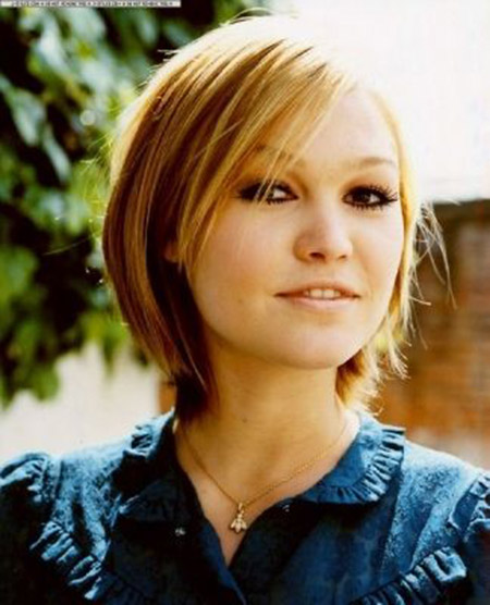 Lovely-Classic-Bob-Cut Short Hairstyles for Straight Hair